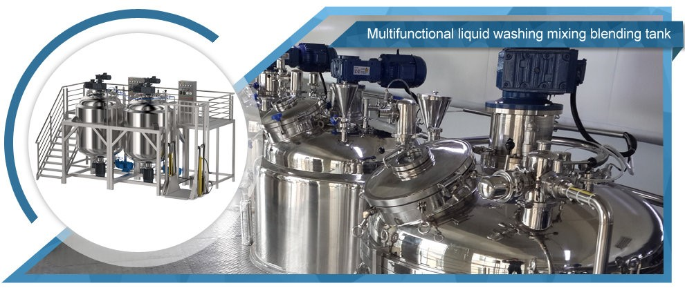 Multifunctional Liquid Washing Mixing Blender Tank
